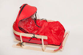 JAB - Cushion with windshield for large baby sled