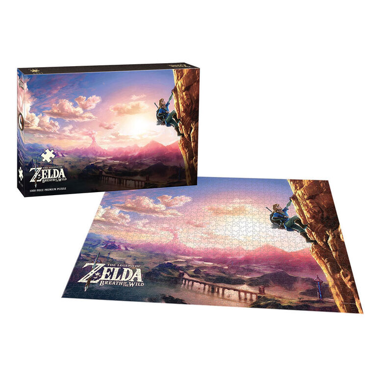 The Legend of Zelda: Breath of the Wild Scaling Hyrule Premium Puzzle