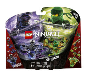 LEGO Ninjago Toupies Spinjitzu Lloyd vs Garmadon 70664