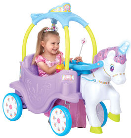 Little Tikes - Magical Unicorn Carriage Ride On