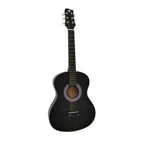 """Concerto 36"""" Acoustic Guitar - Black - R Exclusive"""
