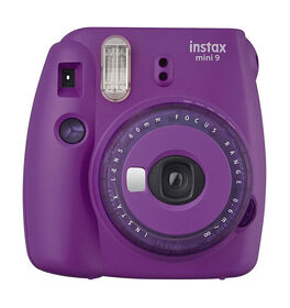 Fujifilm Instax Mini 9 Instant Camera - Clear (Purple)
