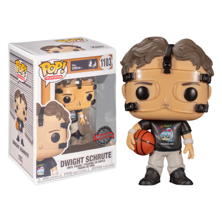 Funko POP! TV: The Office - Dwight Schrute Basketball - R Exclusive