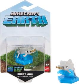 Minecraft Earth Boost Mini Dolphin with Fish Figure