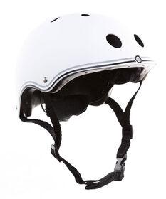 Globber Junior Helmet for Scooter - Blanc