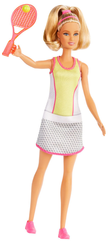 Barbie Careers Tennis Player Doll NEW FREE SHIPPING