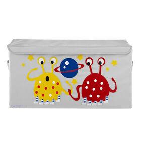 Potwells - Coffre de rangement pour jouets pour tout-petits pour bébés et organisateur de coffre - Alien