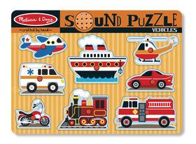 Melissa & Doug - Vehicles Sound Puzzle