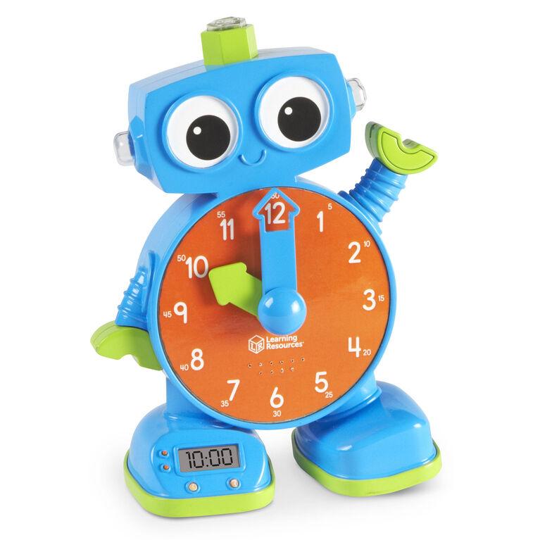 Learning Resources - Robot horloge d'apprentissage