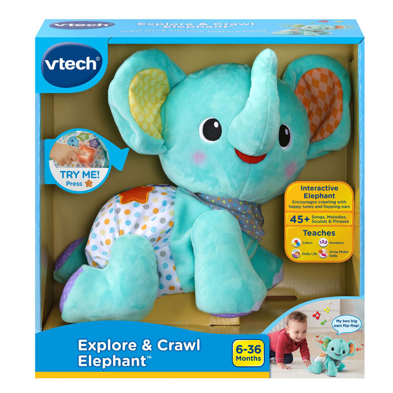 VTech Explore & Crawl Elephant - English Version