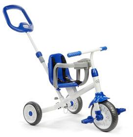 Little Tikes - Tricycle Ride 'N Learn 3 en 1 (bleu)