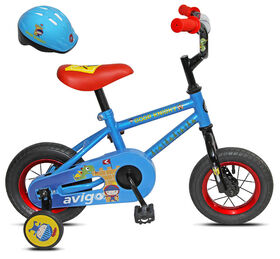 Avigo Good Knight with Helmet - 10 inch Bike