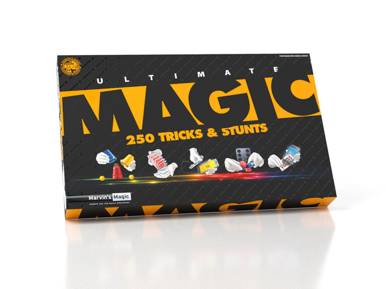 Marvin's Magic Ultimate Tricks & Stunts 250 set - styles may vary