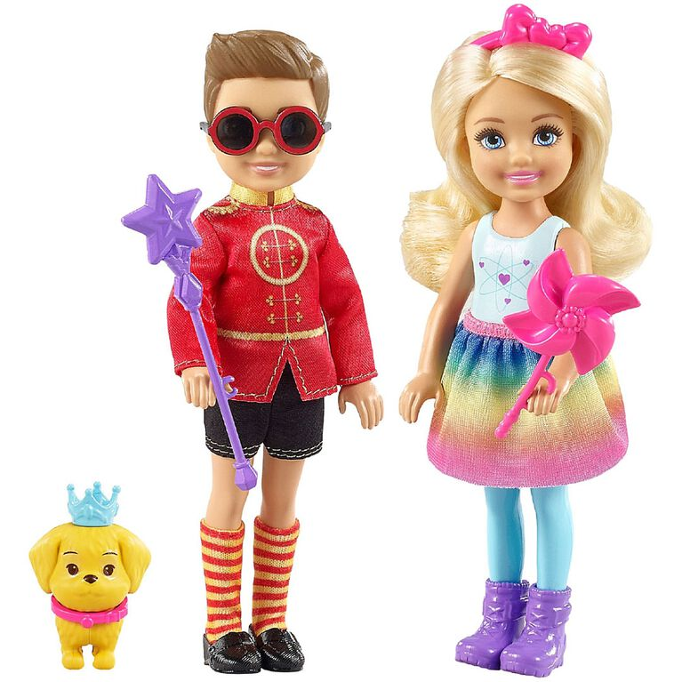 Barbie Dreamtopia Chelsea & Otto Playset