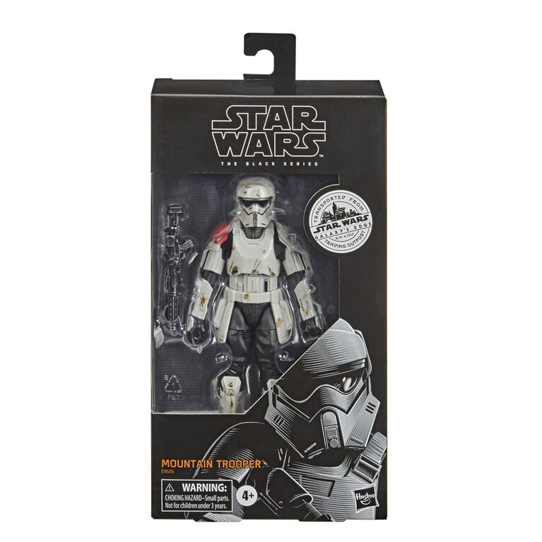 Star Wars The Black Series Mountain Trooper Toy 6-Inch-Scale Star Wars Galaxy's Edge Collectible Action Figure - R Exclusive