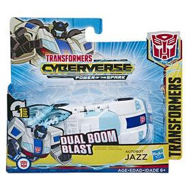 Transformers Cyberverse, figurine Action Attackers Autobot Jazz à conversion 1 étape