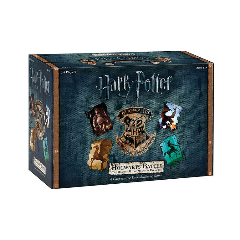 Harry Potter: Hogwarts Battle Game - The Monster Box of Monsters Expansion