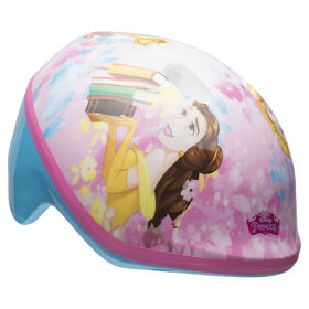 Disney Princess - Toddler Bike Helmet - Belle, Rapunzel, Cinderella (Fits head sizes 48 - 52 cm)