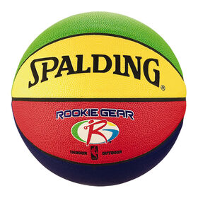 Ballon de basketball NBA Rookie Gear, taille 5