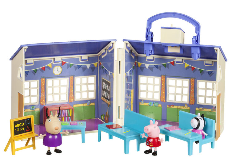 Peppa Pig - Deluxe Schoolhouse - English Edition