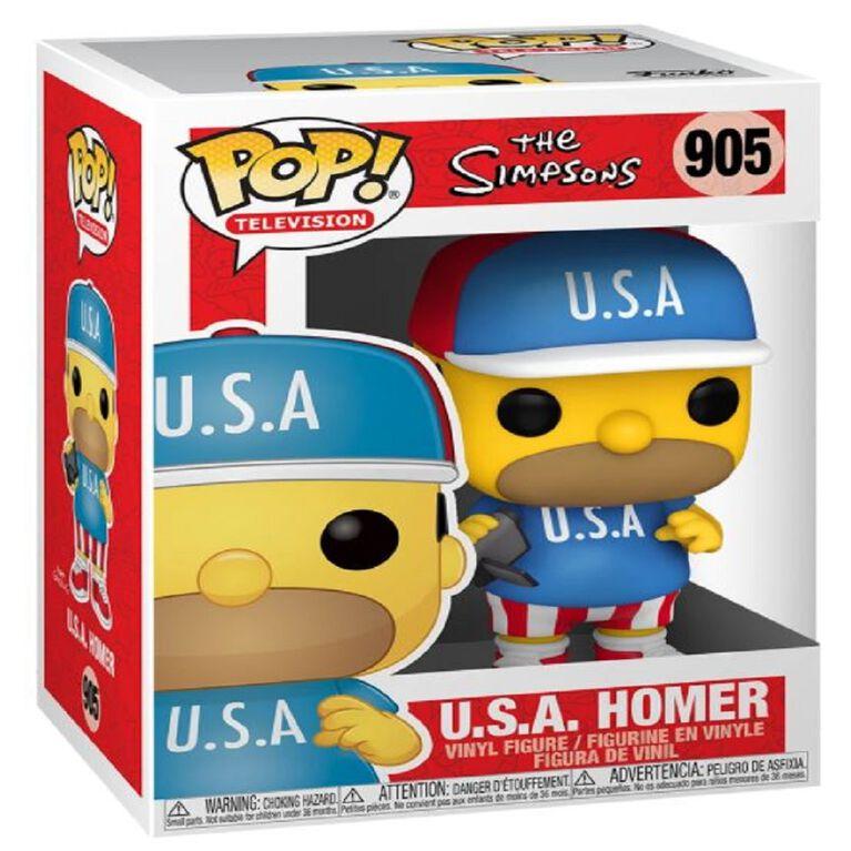 Figurine en Vinyle U.S.A. Hommer  par Funko POP! The Simpsons