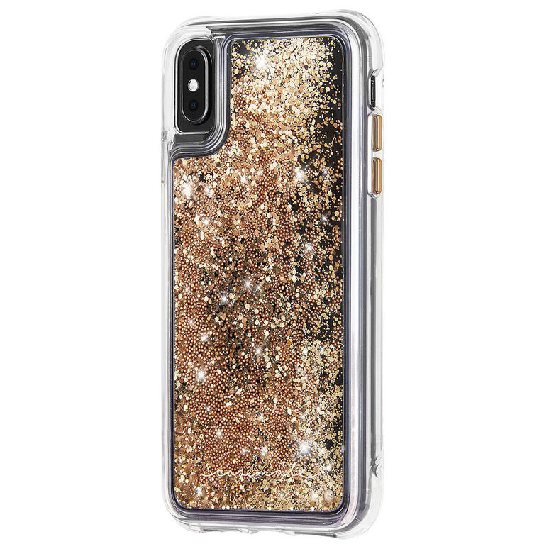 Case-Mate Waterfall Case iPhone XsMax Gold