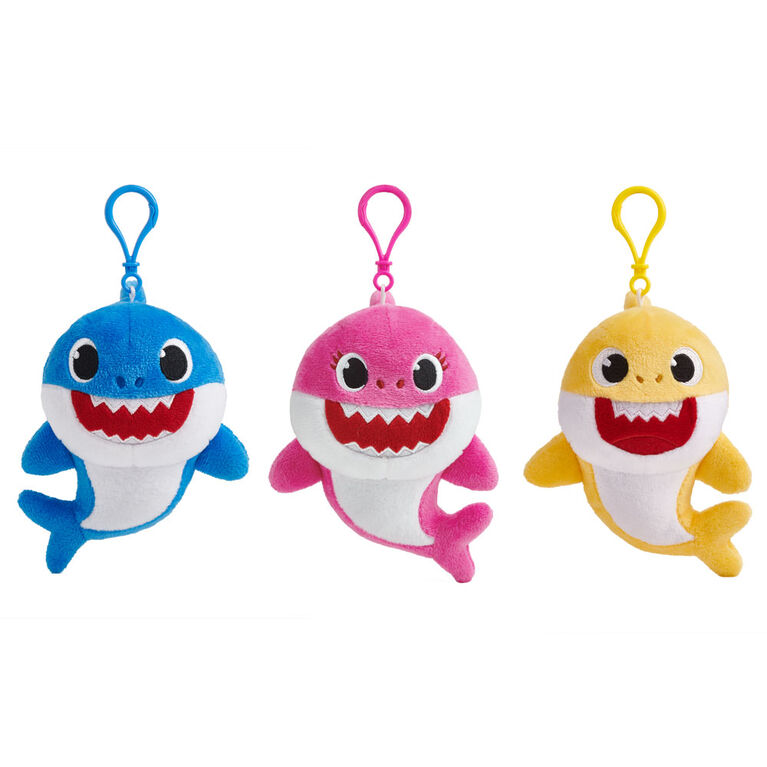 WowWee Pinkfong Baby Shark Plush Clips – Mommy Shark