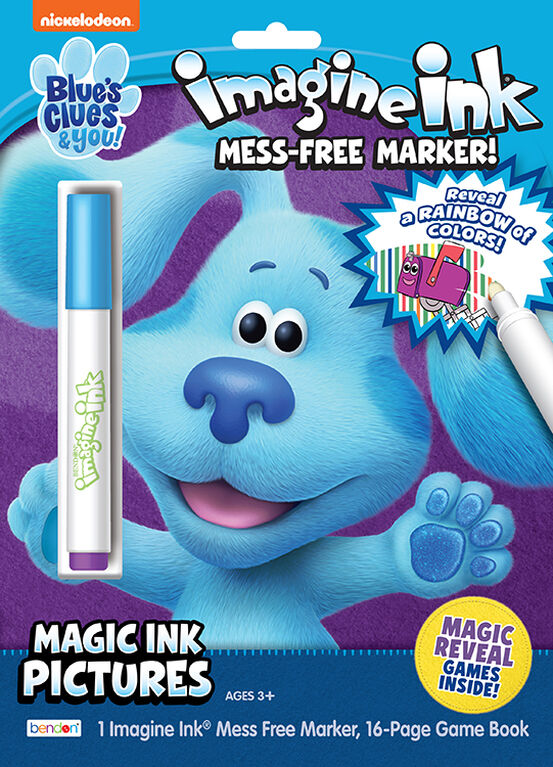 Blues Clues Imagine Ink Color Bk - English Edition