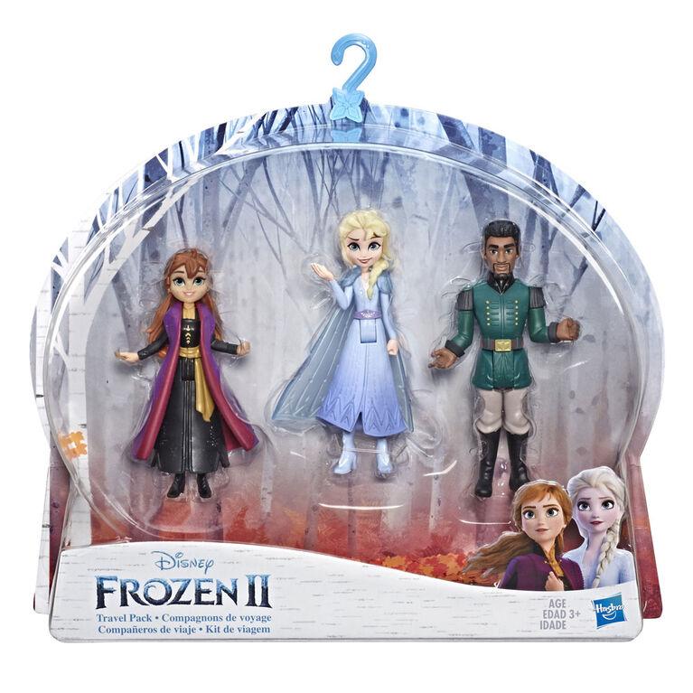 Disney Frozen - Trio de minipoupées Anna, Elsa et Mattias