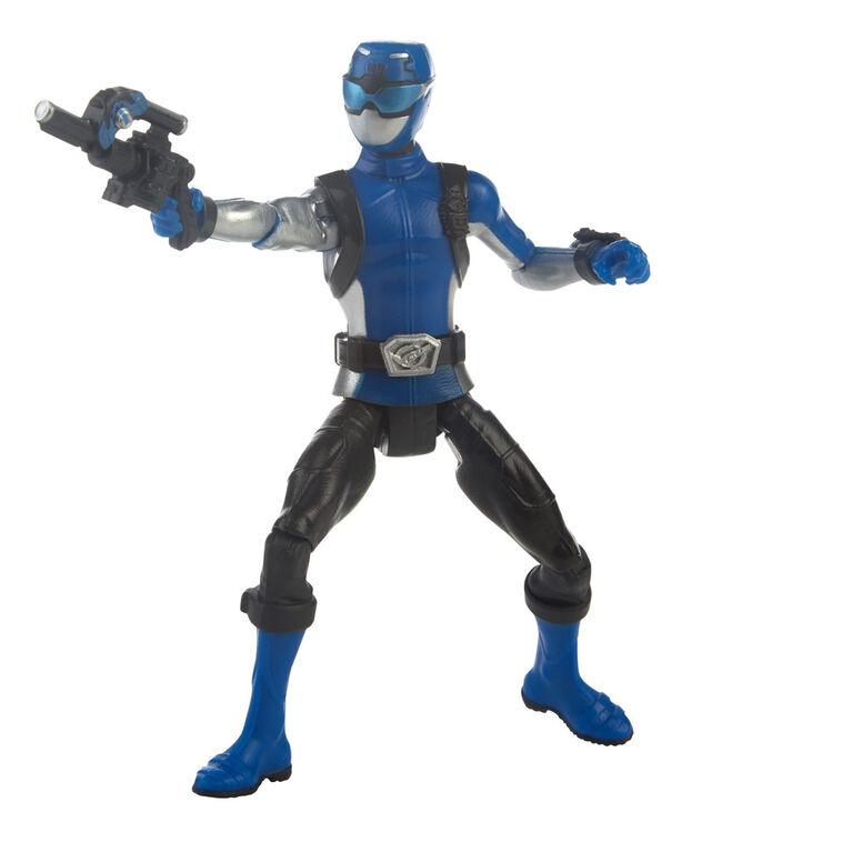 Power Rangers Beast Morphers Blue Ranger 6-inch Action Figure