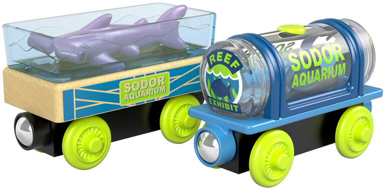 Fisher-Price - Thomas et ses amis - Bois - Wagons Aquariums