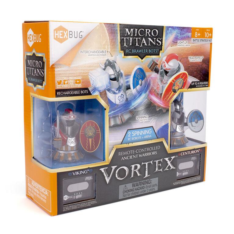 Hexbug Micro Titans Vortex Centurion Vs Viking