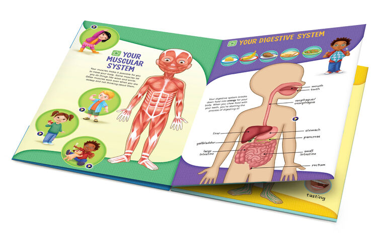 LeapFrog LeapStart Go Deluxe Activity Set - The Human Body - English Edition