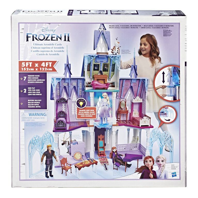 Disney Frozen Ultimate Arendelle Castle Playset