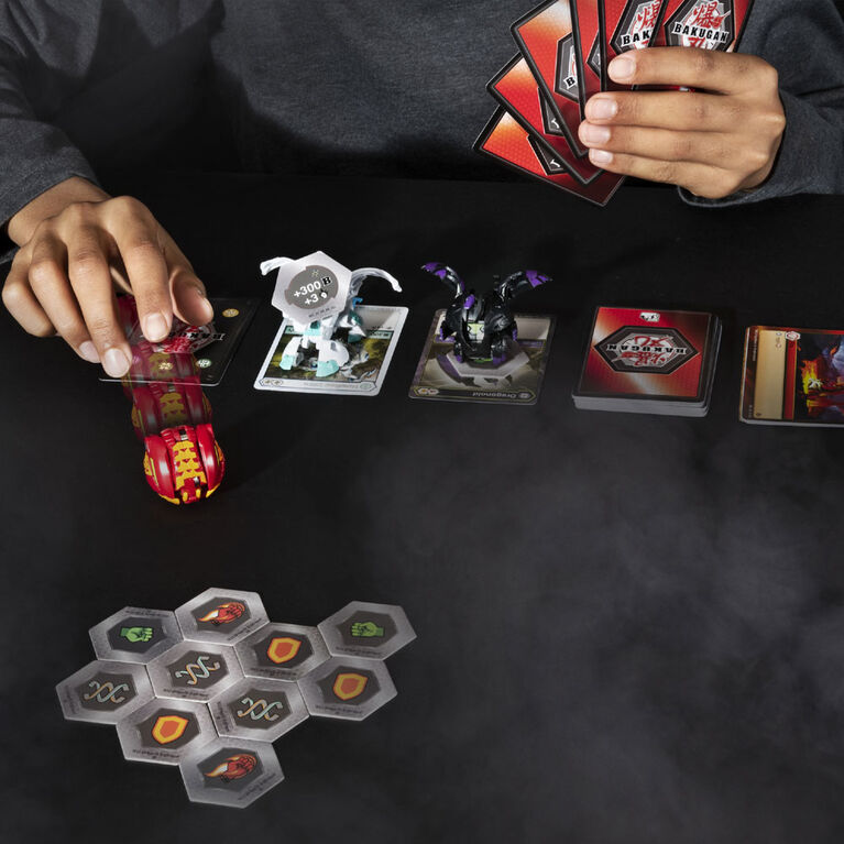 Bakugan Starter Pack 3-Pack, Pyrus Phaedrus, Collectible Action Figures