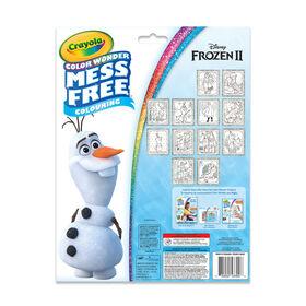 Crayola - Color Wonder Disney Frozen Glitter Paper & Markers