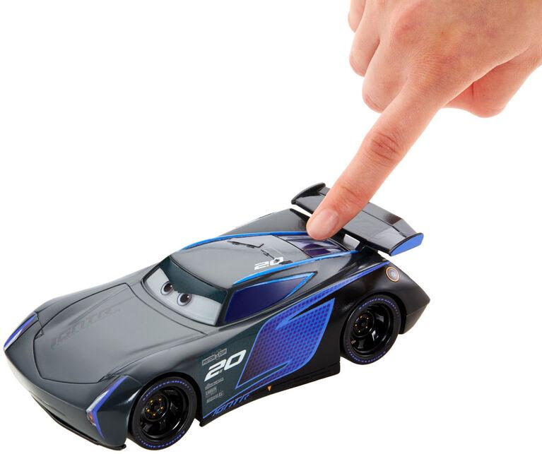 Disney/Pixar Cars Racetrack Talkers Jackson Storm Vehicle - English Edition