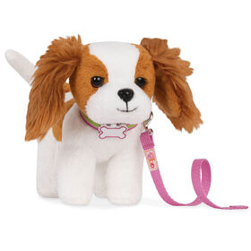 Our Generation, King Charles Spaniel Pup, Pet Dog Plush with Posable Legs