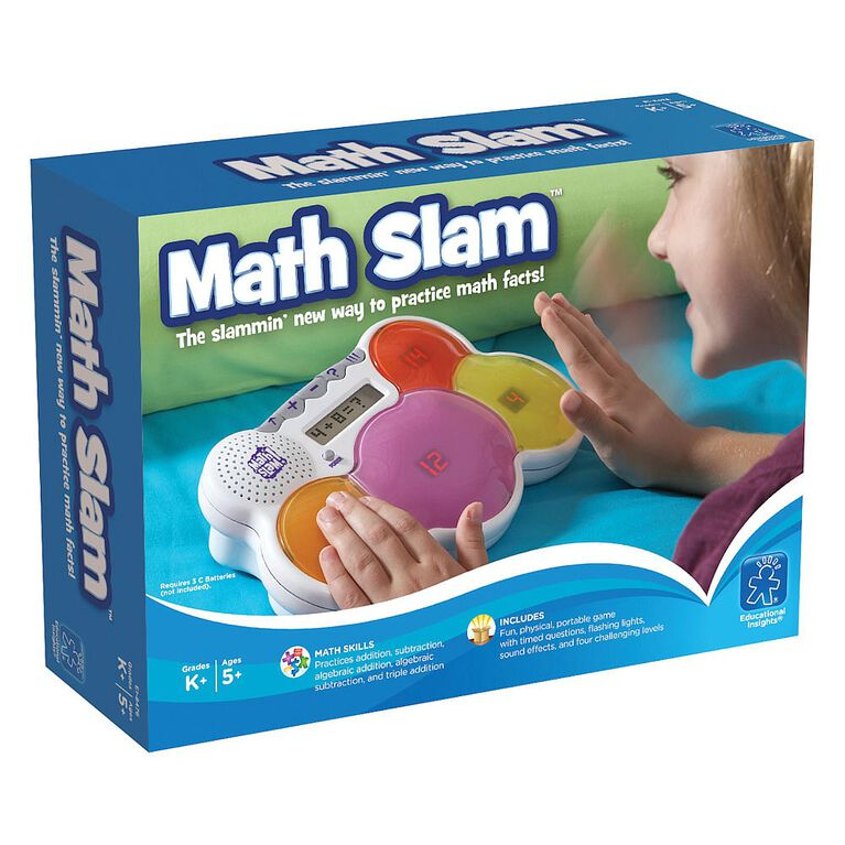 Educational Insights - Math Slam - English Edition