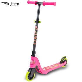 Flybar Aero 2 Wheel Kick Scooter for Ages 5 and Up (Pink)