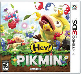 Nintendo 3DS - Hey! Pikmin