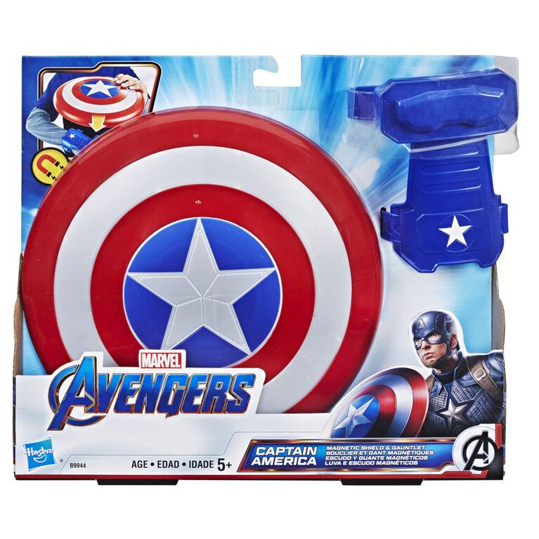 Marvel Avengers jouet Bouclier et Gant magnétiques de Captain America
