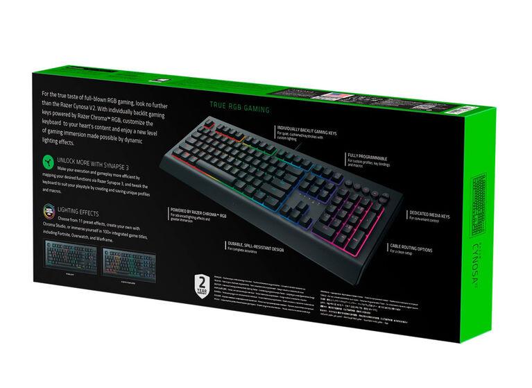 PC - Razer Cynosa V2 Gaming Keyboard Us