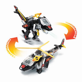 VTech Switch & Go Velociraptor Helicopter - French Edition
