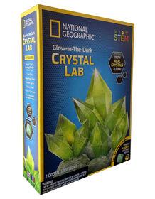 National Geographic - Laboratoire de cristaux phosphorescents