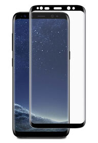Blu Element BTGGalaxy S8CB 3D Curved Glass Case Friendly for samsung Galaxy S8 Black (BTGGS8CB)