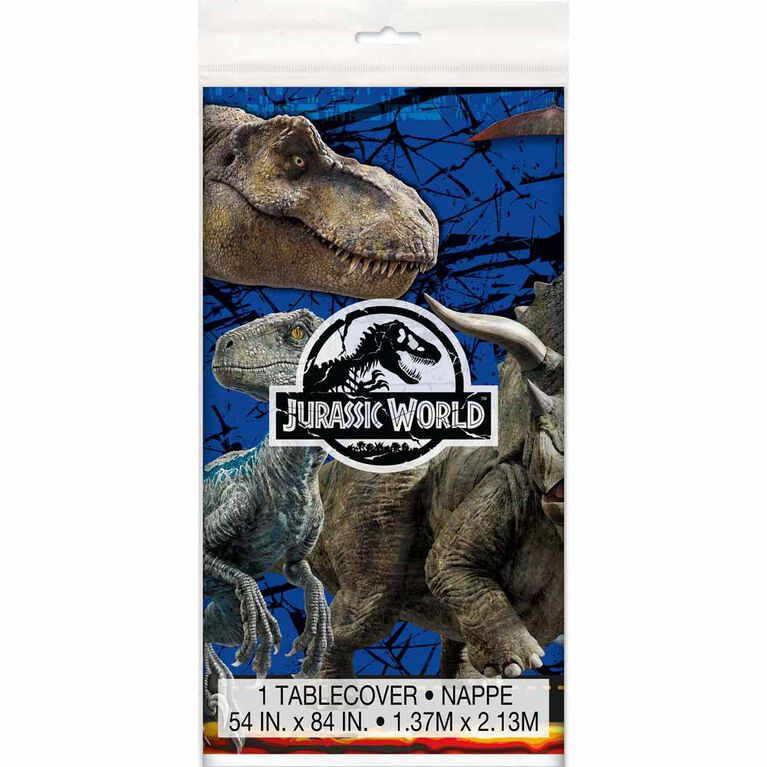 "Jurassic World Table cover 54""x84"""