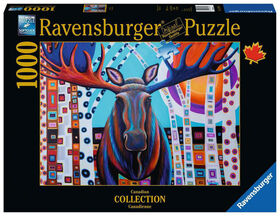 Ravensburger - Winter Moose Puzzle 1000pc