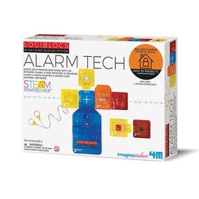 Technologie d'alarme Logiblocs.