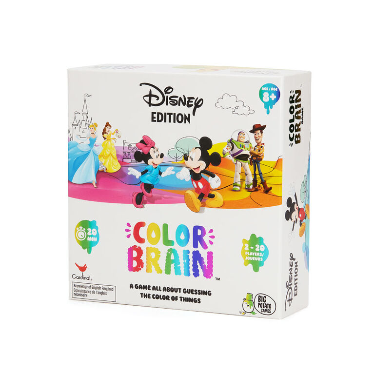 Big Potato - Disney Color Brain Family Quiz Game